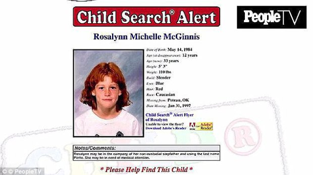 Missing person poster for 12-year-old Rosalynn McGinnis .jpg