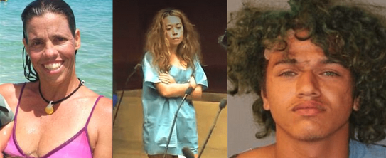 Suspects in Hawaii the house cleaner murder begged cops to 'end it all' claiming they 'deserve it' - Stephen Brown and Hailey Dandurand, allegedly 'beat a mom to death with a baseball bat and tied up her eight-year-old daughter in a holiday home'