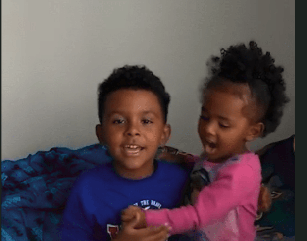 Isaiah Miller, 7, and his three-year-old sister Iliya Miller 4.jpg