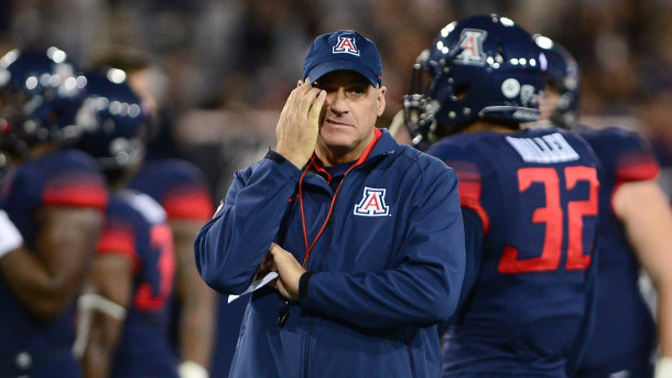 Accuser sues school, former employee claims players sent her genital photos,  Arizona coach Rich Rodriguez's not only harassed her but refused to intervene