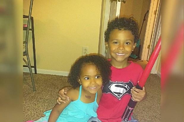 saiah Miller, 7, and three-year-old Iliya Miller 5.jpg