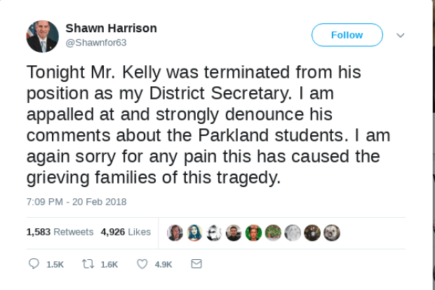Shawn Harrison fires aide tweet 2.png