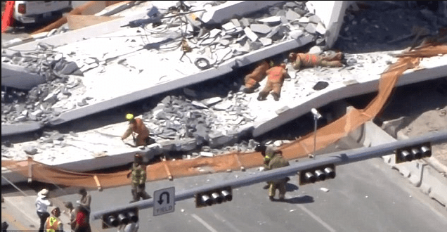 Construction firms behind the collapsed FIU bridge all have history of safety complaints - faced fines, lawsuits over previous safety lapses