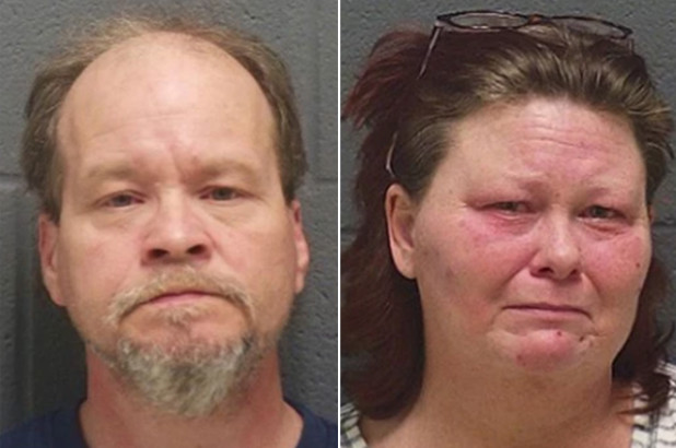 Depraved Indiana parents, Keylin and Sheila Johnson, held for molestation, told their kids 'best way to build a family bond' was incest