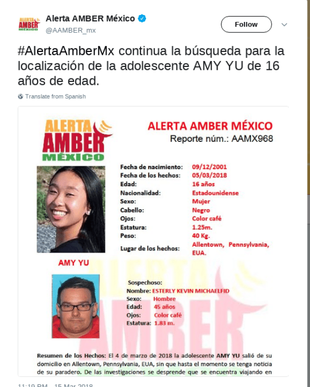 Mexico issue amber alert for David Esterly and Amy Yu 1.png