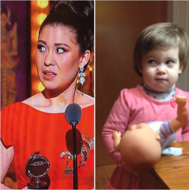 Ruthie Ann Miles and her daughter Abigail Miles 2