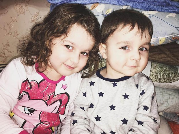Khadizha and Suleiman Karimov, killed by their mom, Elena Karimova's torched home 1.jpg