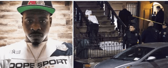 Cops arrest gunman, Anthony Vasquez,  who fatally shot James Halsey in the head as he was sitting on his brownstone stoop in Brooklyn, NY on the evening of April 7 - Eyewitness identified shooter
