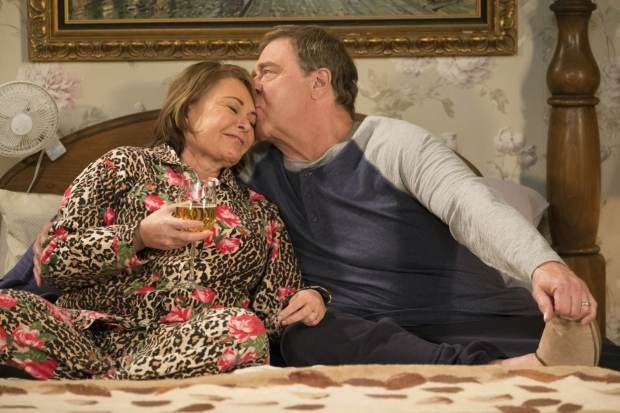 Roseanne Barr and Tom Arnold 1
