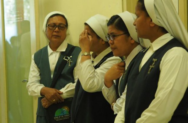 Sisters Of The Immaculate Conception at  the Church Of Santa Maria Surabaya, Indonesia 1.jpg