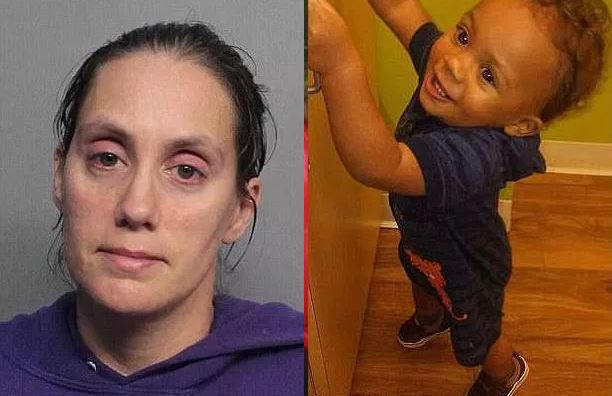 Prosecutors seek death penalty for Florida mom whose 1-year-old son, died after he suffered 'severe burns' from a scalding-hot bath - Christina Hurt has a long history of child neglect