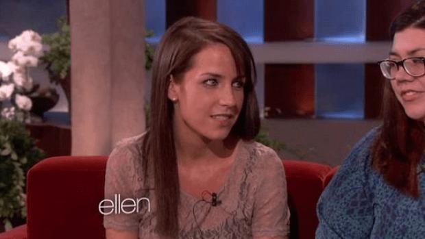 Dana Tapper on Ellen Degeneres 2