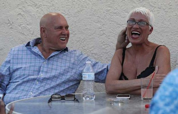 Dennis  Hof, pictured with madam Sonja Bandolik of the Love Ranch 1.JPG