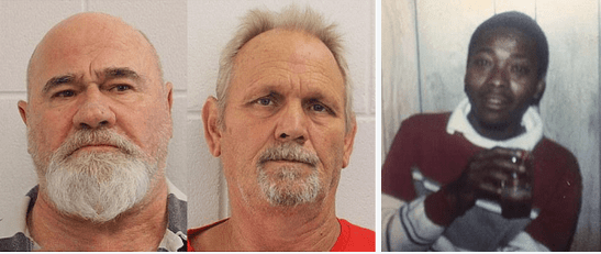 Pair of  racist killers in Georgia, Frank Gebhardt and Bill Moore, stand trial for truck dragging death 35 YEARS after 'murdering black man and arguing over who could take the most credit for it'