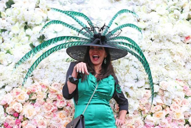 It's a hats thing at the Royal ascot.jpg
