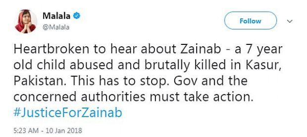 Malala seeks justice for Zainab Fatima Ameen 1.jpg