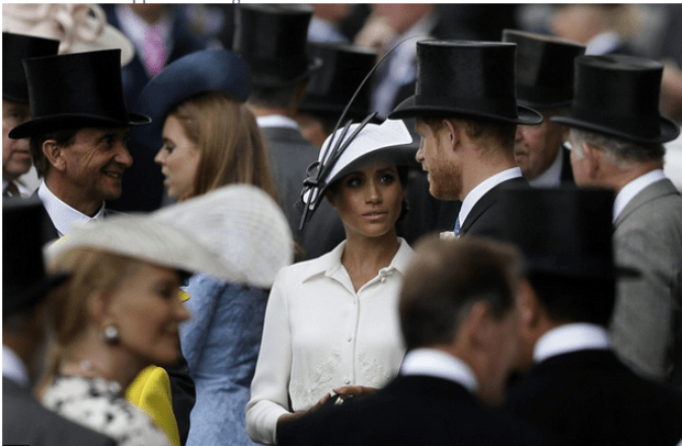 Meghan and Prince Harry at the 2018 Royal Ascot 8.png