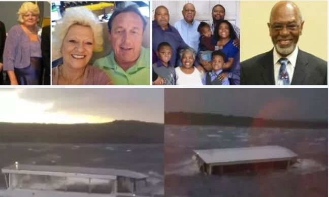 NINE members of Indiana family among 17 killed in duck-boat tragedy - Survivors describe being trapped inside sinking boat, passengers 'sucked' under as they tried to swim away