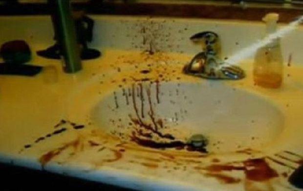 Evidence from the Travis Alexander murder scene