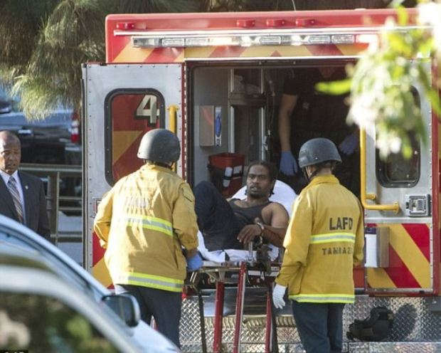 Gunman 'takes hostages and opens fire' inside a Trader Joe's in Los Angeles 12