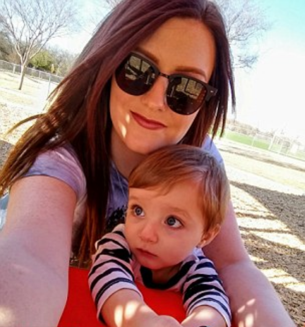 Alexandria Murphy and her slain son Ashton Ness 3