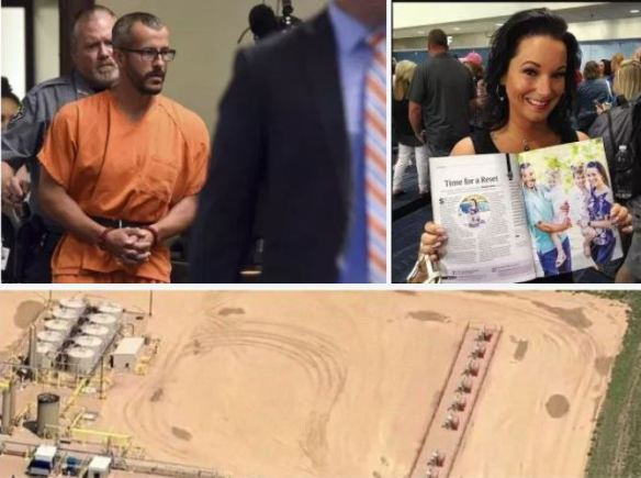 Colorado dad, Christopher Watts, who 'murdered his pregnant wife and