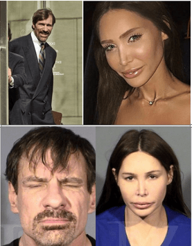 Billionaire 'Crime fighter' Henry Nicholas, 59, arrested in Las Vegas 'with a hotel room full of drugs alongside his girlfriend, Ashley Fargo, who was passed out with a balloon in her mouth' - Fargo is the former wife of a Wells Fargo heir