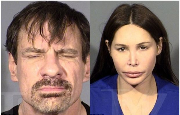 Henry Nicholas III [left], and his girlfriend Ashley Fargo [right] 1
