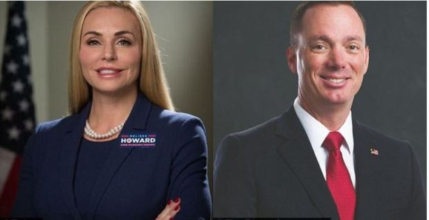Melissa howard and her opponent Tommy Gregory