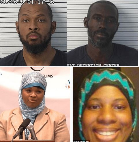 """Message  of 'We are starving and need food and water' leads to the rescue of 11 children found with heavily armed 'extremist Muslims' living in poverty inside New Mexico trailer compound!,  for months -  Siraj Ibn Wahhaj allegedly wanted to perform an exorcism on his """"possessed"""" three-year-old son"""
