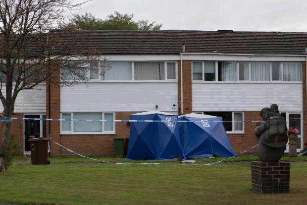 The victim's neighbours heard screaming before seeing a man flee the crime scene.jpg