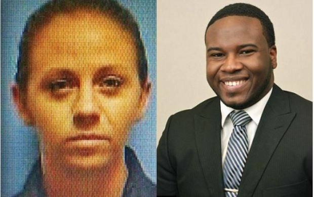 Amber Guyger and Botham Jean 1