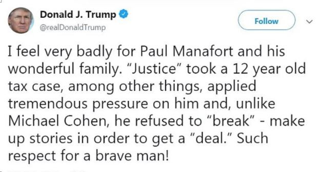 Donald Trump on Paul Manafort conviction in Virginia 1.JPG