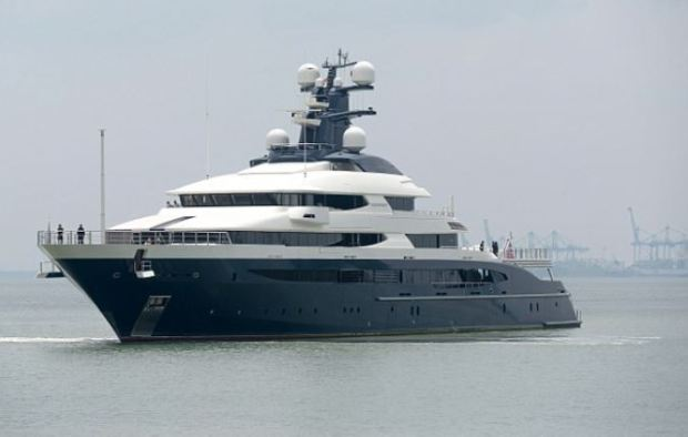 Jho Low's $250million superyacht Equanimity