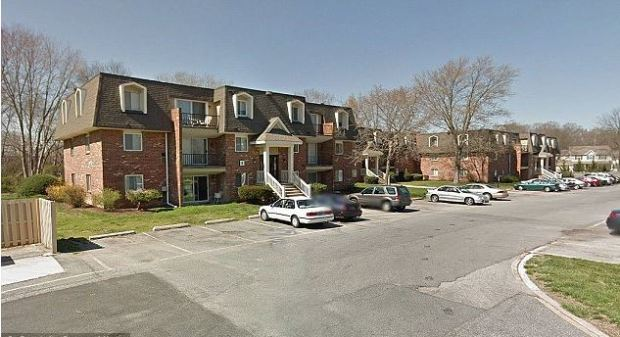 Keyon Smith attacked her husband's mistress at this apt complex in Dever, Delaware.JPG