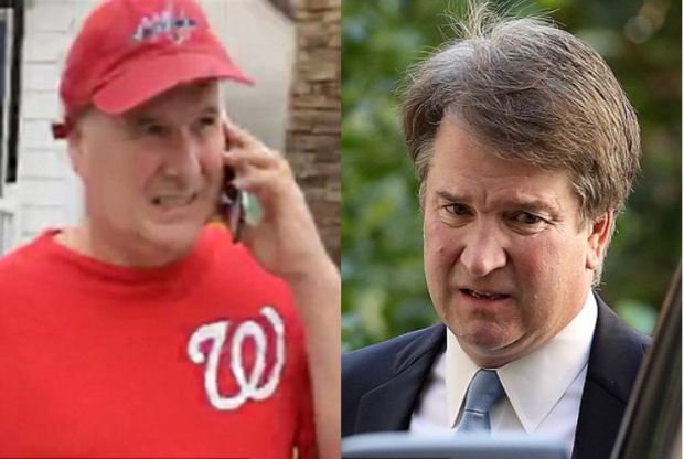 Mark Judge [left], and Brett Kavanaugh 1