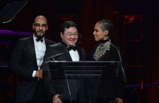 Swizz Beatz, [left], Jho Low [cener], and Alicia Keys [right] 1.JPG