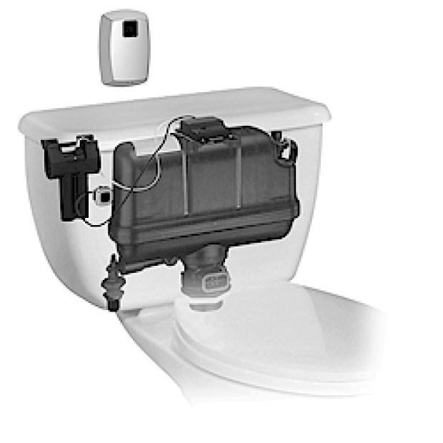Pressure-assisted toilet flushing system 4