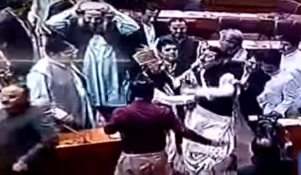 Politicians in Pakistan brawl over a Christian woman saved from a death row blasphemy conviction 1.JPG