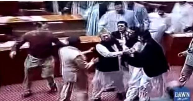 Politicians in Pakistan brawl over a Christian woman saved from a death row blasphemy conviction 2.JPG