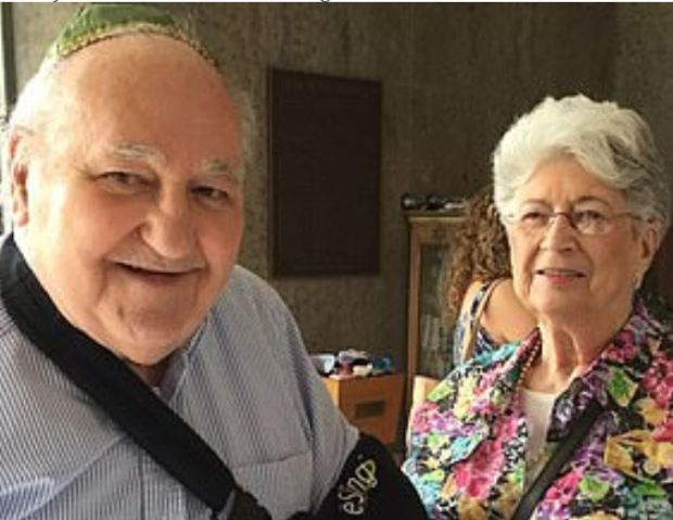 Sylvan Simon, [left], and his wife Bernice Simon 1.JPG