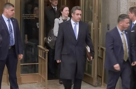 "Trump ""misled me"" - President's personal 'fixer' Michael Cohen slams former client as he's sentenced to 3 years in prison"