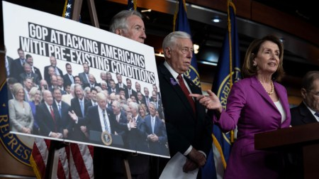 House Democrats Condemn Trump's Targeting Affordable Care Act's Pre-existing Condition