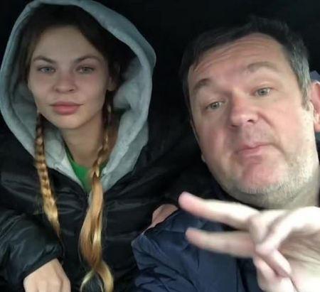 Anastasia Vashukevich with her lawyer, Dmitry Zatsarinsky 1