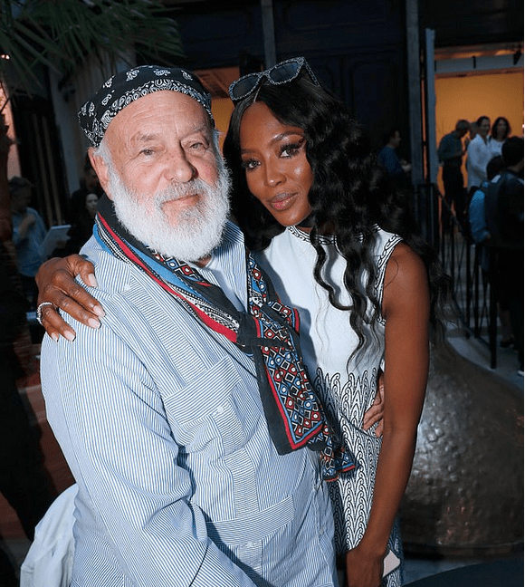 Bruce Weber and Naomi Campbell 1
