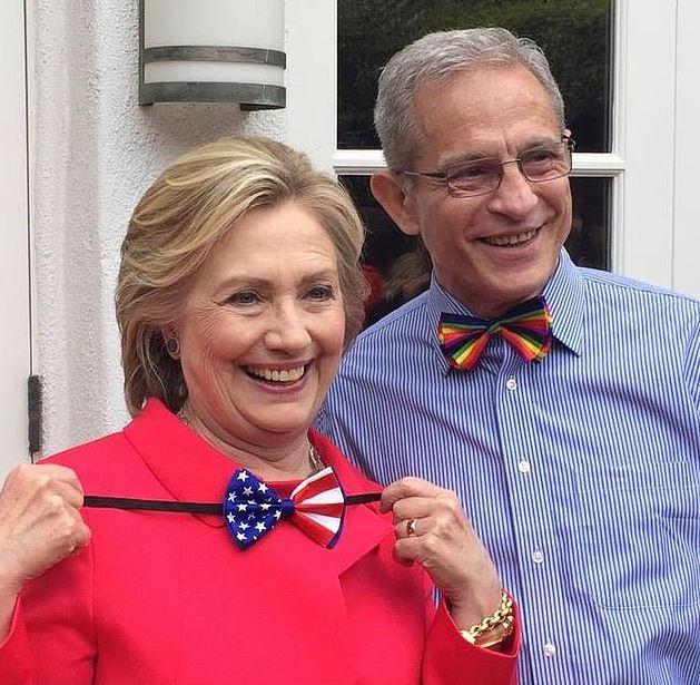 Hilary clinton and Edward Buck 1