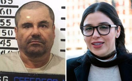 Joaquín 'El Chapo' Guzmán Loera and his wife Emma Coronel Aispuro 1