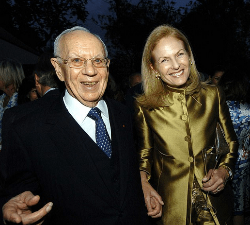 Mortimer Sackler and Dame Theresa Sackler 1