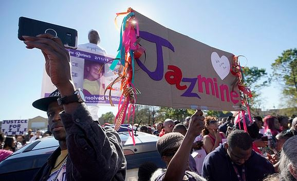 Protest rally over death of Jazmine Barnes 1