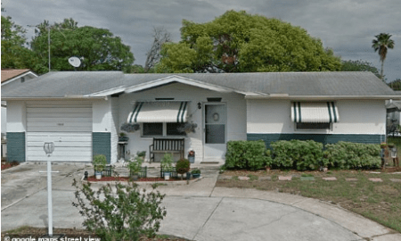 Shelby John Nealy and Jamie Ivancic's home in Port Richey, Fla
